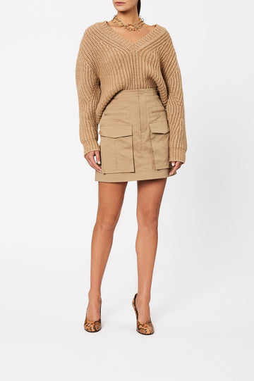 Cocoon Sweater 3 Camel - Scanlan Theodore