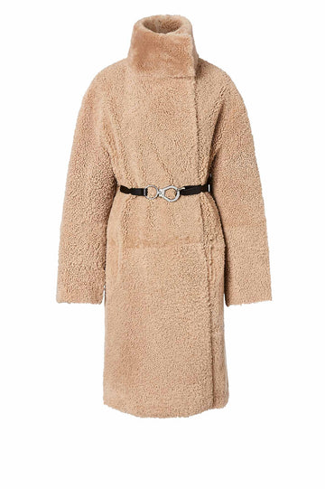 Merino Shearling Coat Teddy - Scanlan Theodore