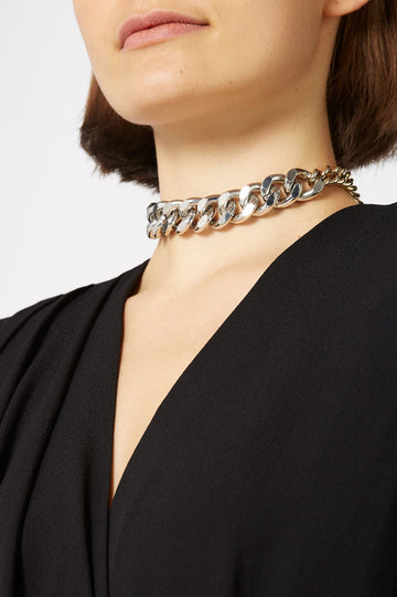 CHAIN CHOKER, COLOR MULTI