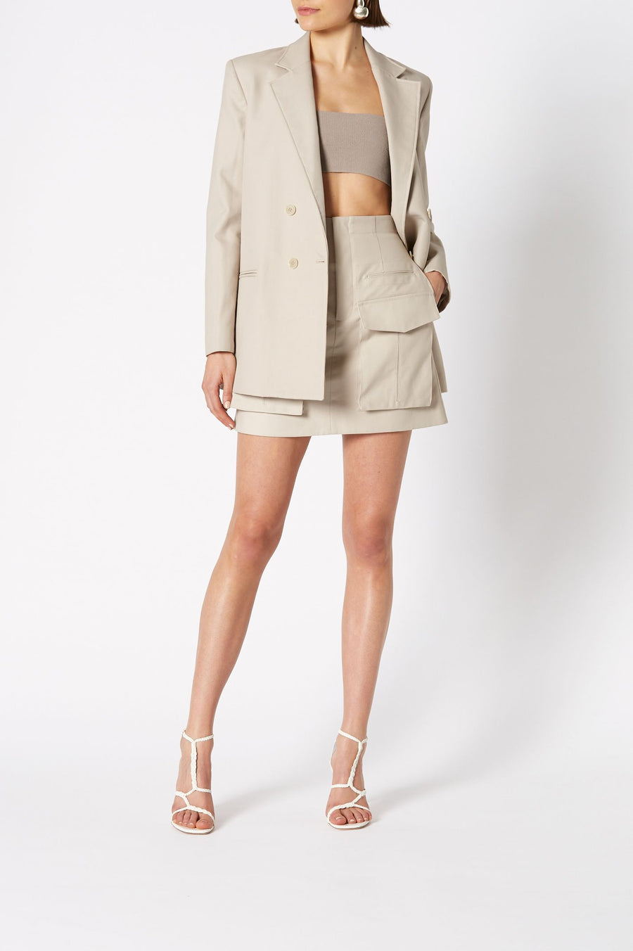 TAILORED JACKET TRENCH