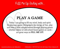 Fill Me Up – Daily Card Deck