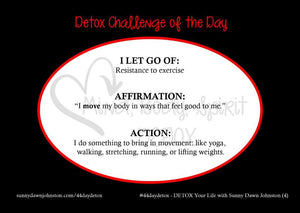 Detox Your Life – Daily Card Deck