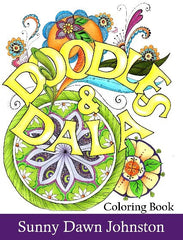 Doodles and Dalas Coloring Book