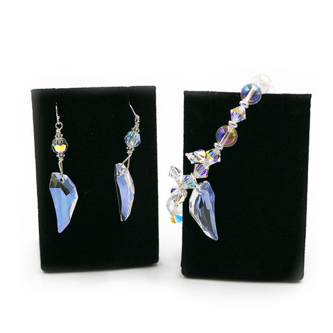 Archangel Gabriel Earrings & Bracelet