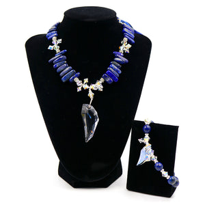 Archangel Michael Necklace & Bracelet Set