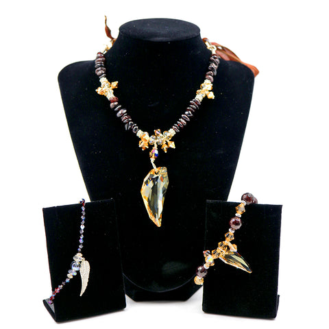 Archangel Uriel Necklace & Bracelets Set