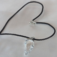 Swarovski Crystal Wing Corded Necklace