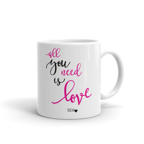 Image of ALL YOU NEED IS LOVE Mug