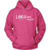 Image of Laugh More Worry Less Unisex Hoodie