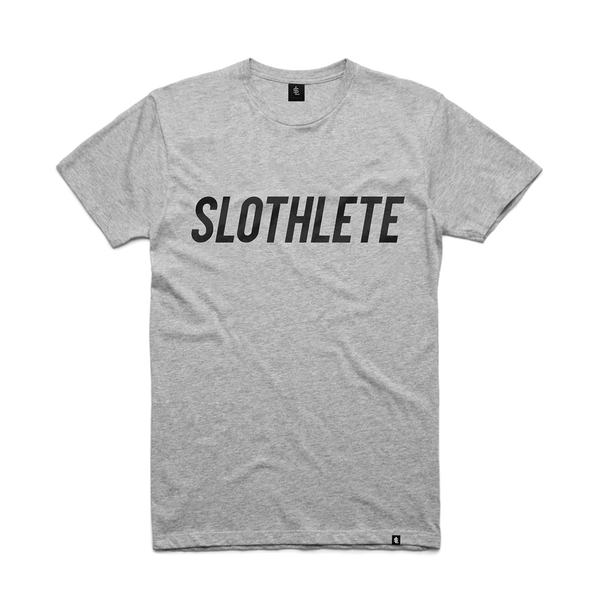 Mens Grey Slothlete Tee