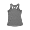 Womens Grey Racerback