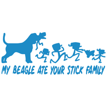 Load image into Gallery viewer, My Beagle Ate Your Stick Family - FN Decals
