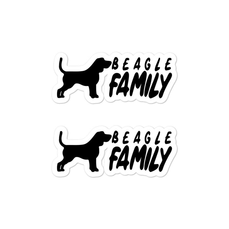 Beagle Family 2 Sticker - Decal Sticker World