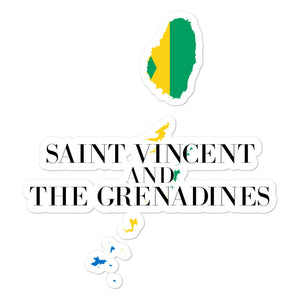 Saint Vincent and the Grenadines Bubble-free stickers