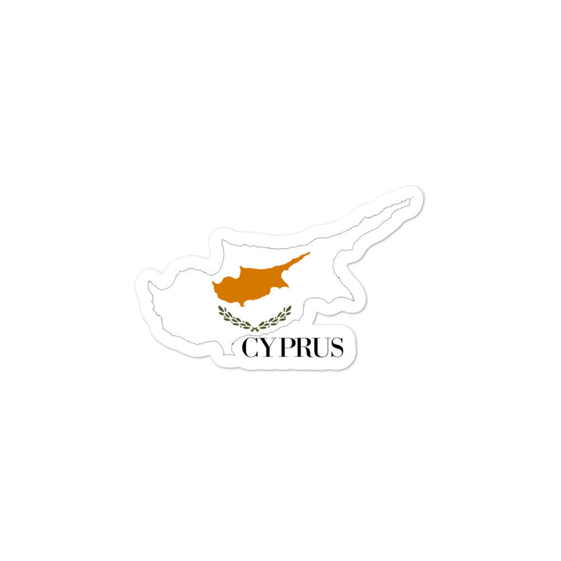 Cyprus Bubble-free stickers - Decal Sticker World