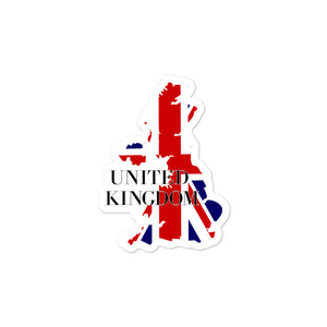 United Kingdom Bubble-free stickers