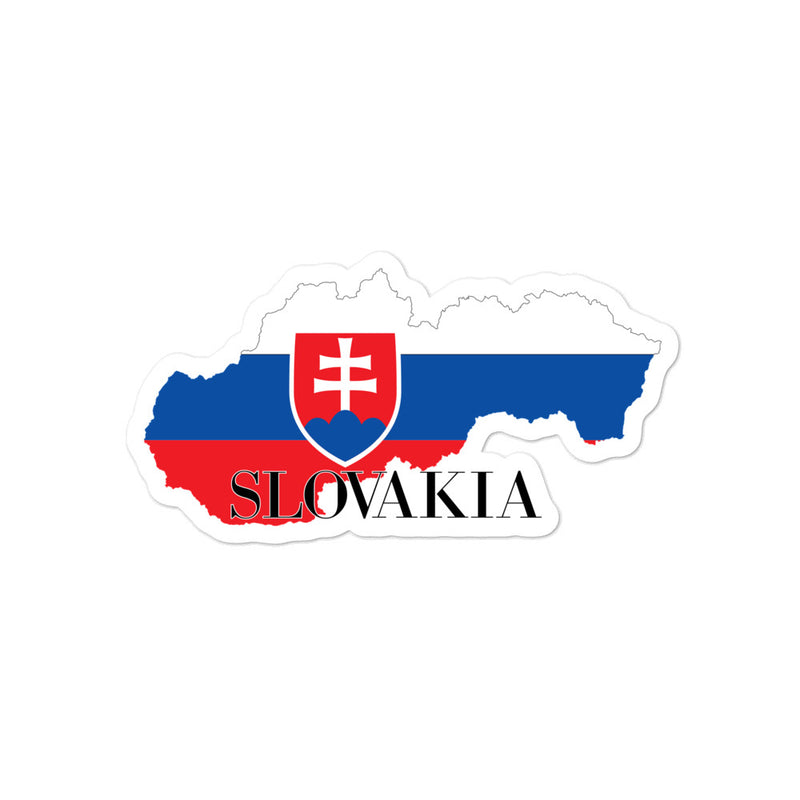 Slovakia Bubble-free stickers - Decal Sticker World