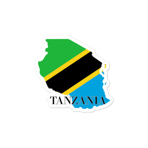 Tanzania Bubble-free stickers - Decal Sticker World