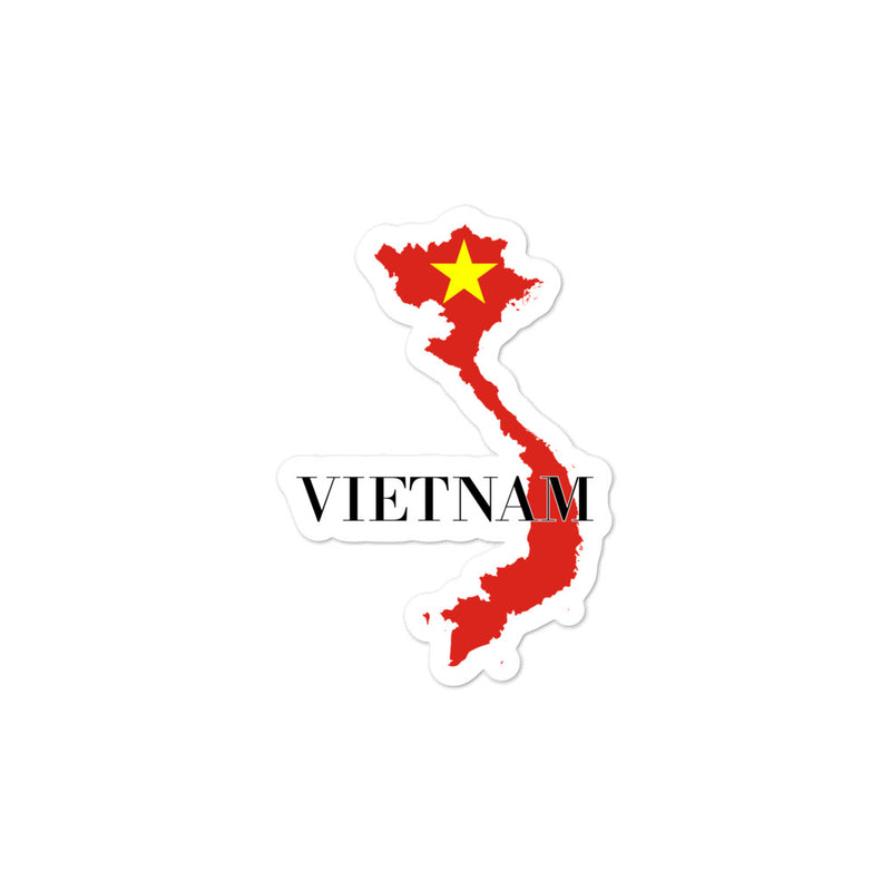 Vietnam Bubble-free stickers - Decal Sticker World