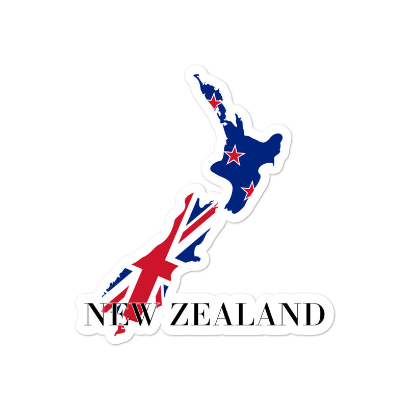 New Zealand Bubble-free stickers - Decal Sticker World