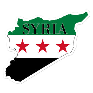 Syria Bubble-free stickers