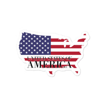 Load image into Gallery viewer, United State of America Bubble-free stickers