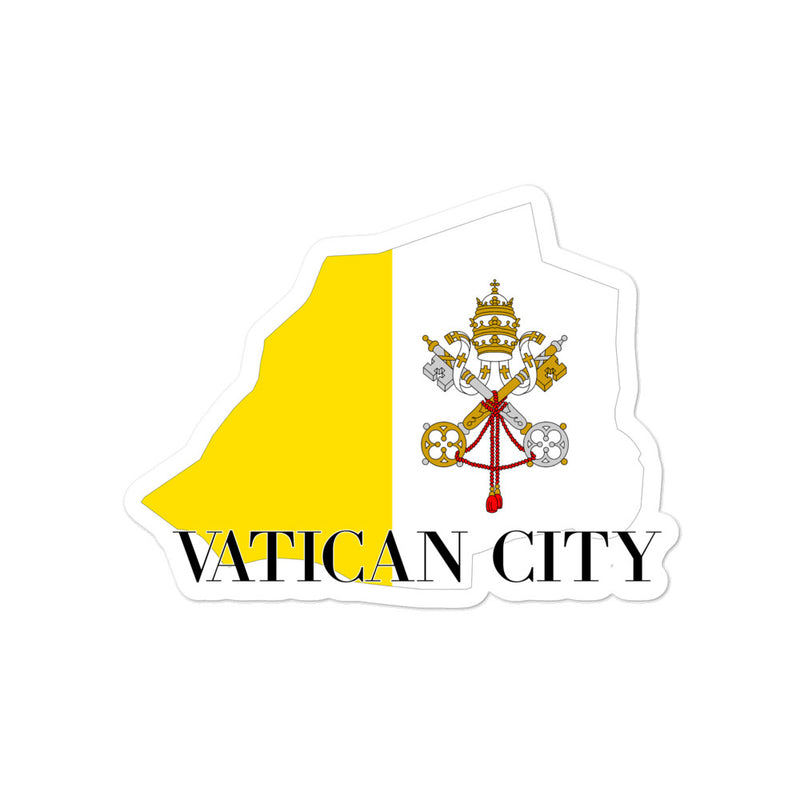 Vatican City Bubble-free stickers - Decal Sticker World