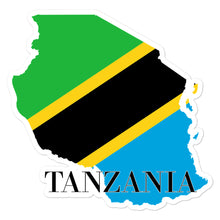Load image into Gallery viewer, Tanzania Bubble-free stickers - Decal Sticker World
