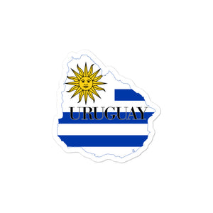 Uruguay Bubble-free stickers - Decal Sticker World