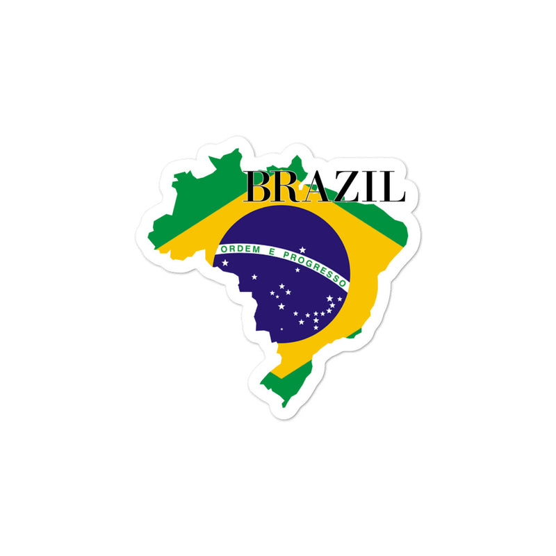 Brazil Bubble-free stickers - Decal Sticker World