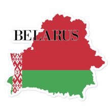 Load image into Gallery viewer, Belarus Bubble-free stickers
