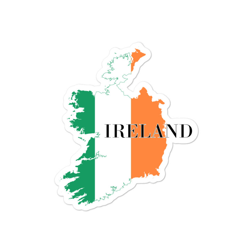 Ireland Bubble-free stickers - Decal Sticker World