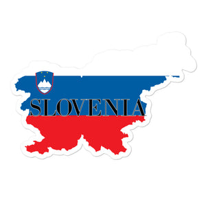 Slovenia Bubble-free stickers