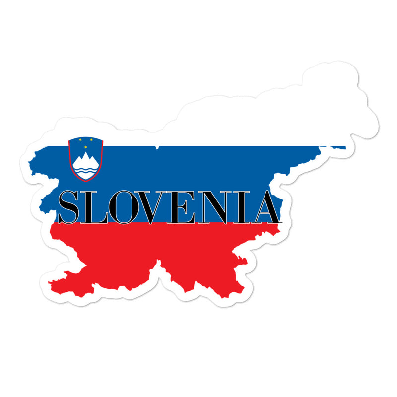 Slovenia Bubble-free stickers - Decal Sticker World