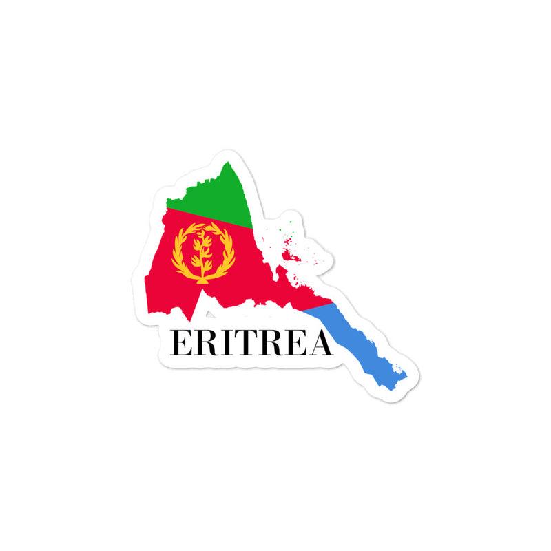 Eritrea Bubble-free stickers - Decal Sticker World