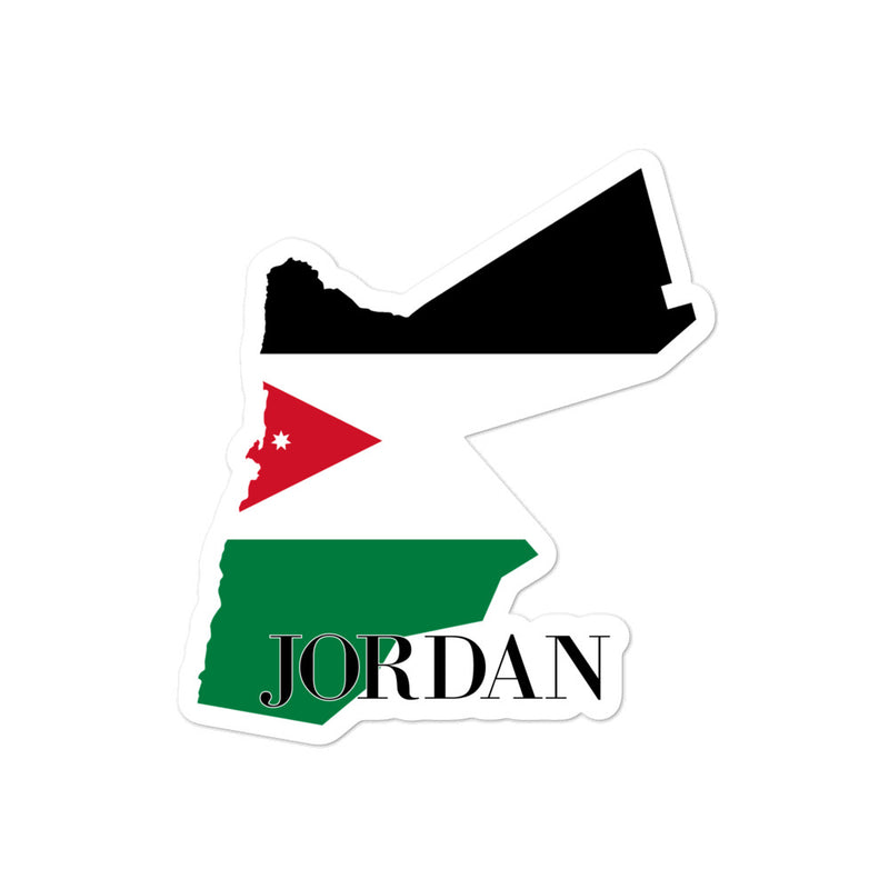 Jordan Bubble-free stickers - Decal Sticker World
