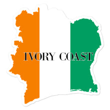 Load image into Gallery viewer, Ivory Coast Bubble-free stickers