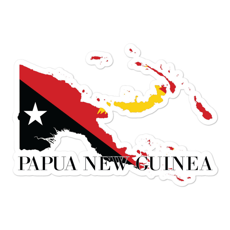 Papua New Guinea Bubble-free stickers - Decal Sticker World
