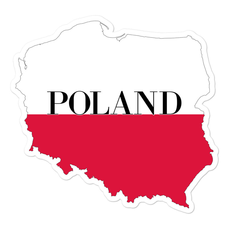 Poland Bubble-free stickers - Decal Sticker World