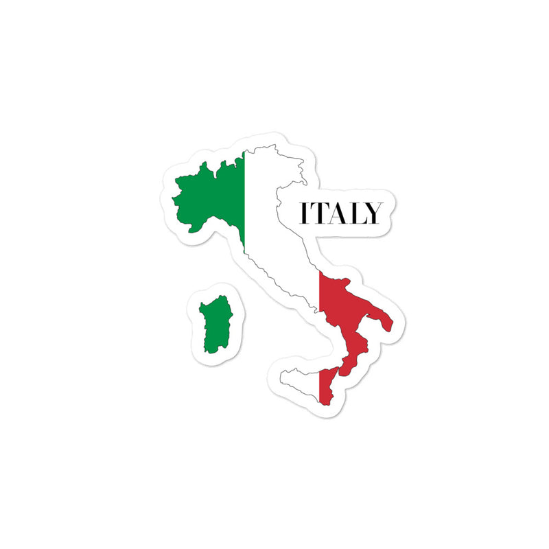 Italy Bubble-free stickers - Decal Sticker World