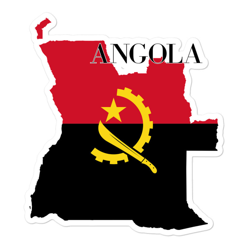 Angola Bubble-free stickers - Decal Sticker World