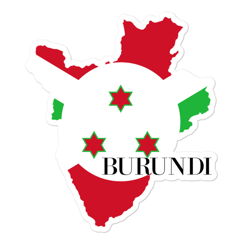 Burundi Bubble-free stickers - Decal Sticker World