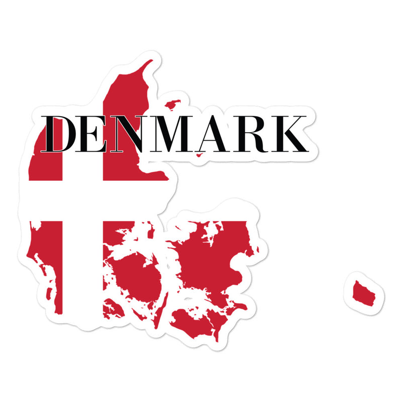 Denmark Bubble-free stickers - Decal Sticker World