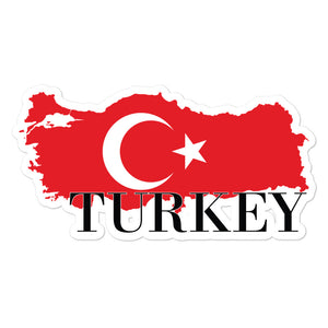 Turkey Bubble-free stickers - Decal Sticker World