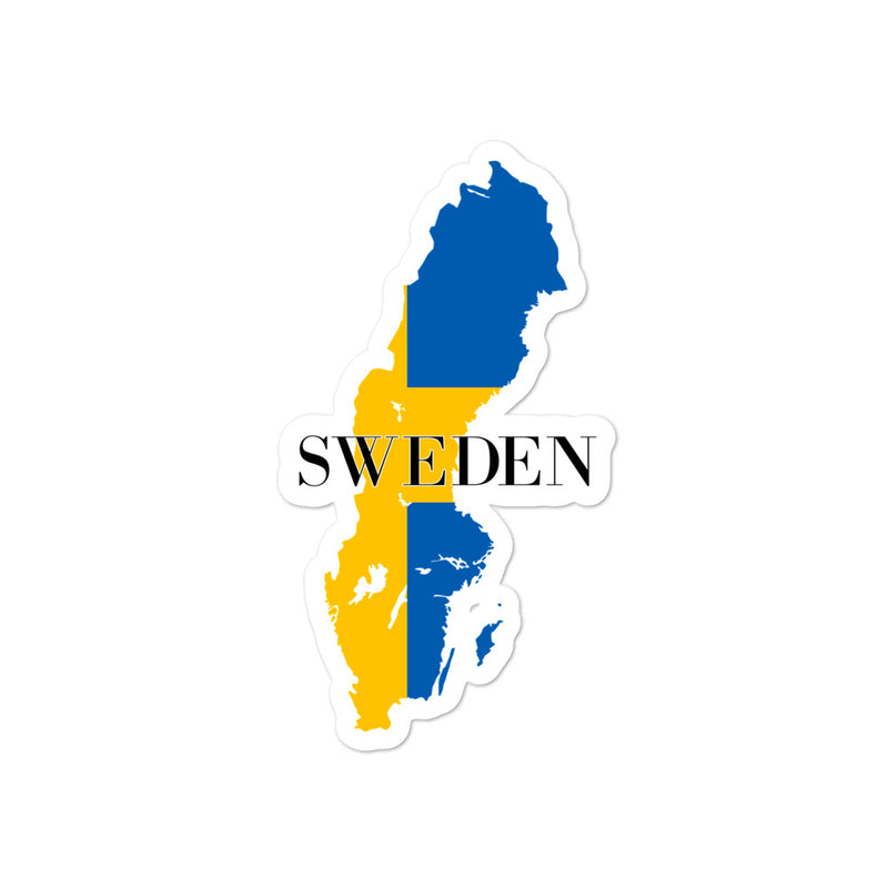 Sweden Bubble-free stickers - Decal Sticker World