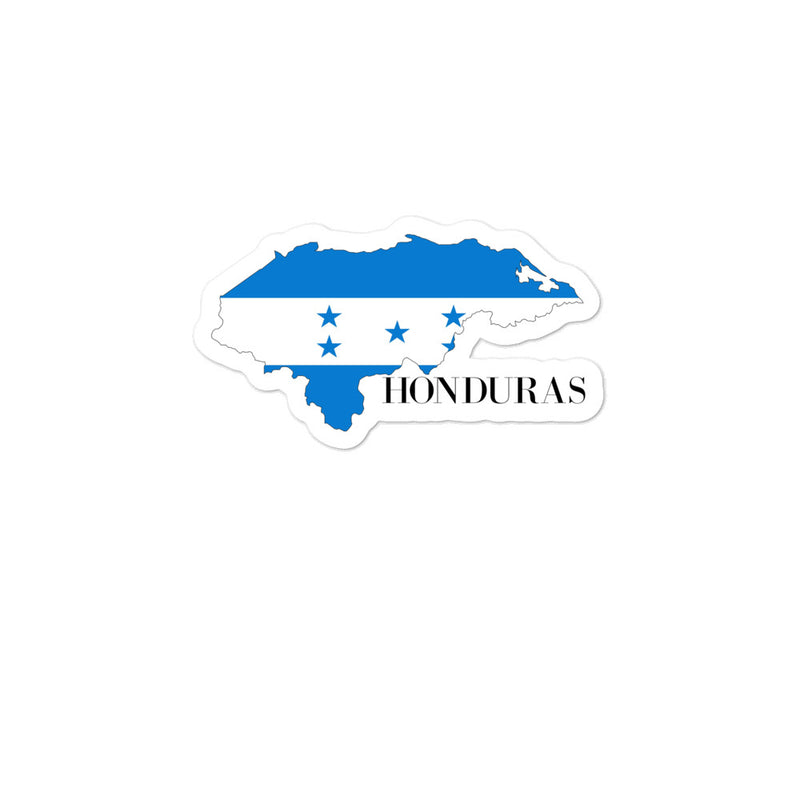 Honduras Bubble-free stickers - Decal Sticker World