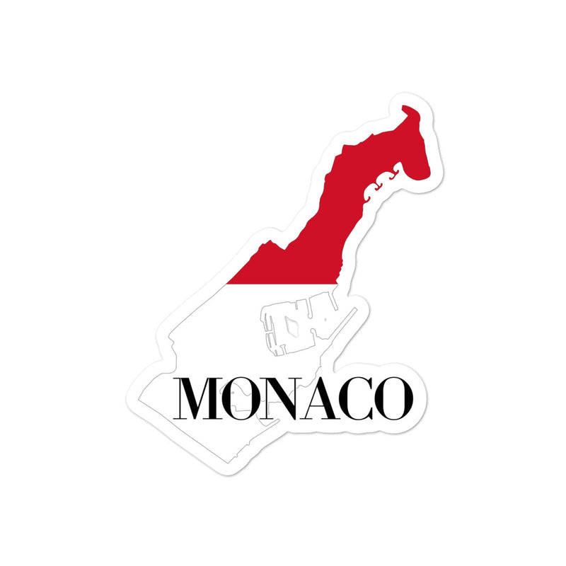 Monaco Bubble-free stickers - Decal Sticker World