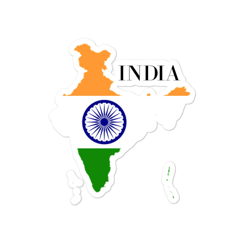 India Bubble-free stickers - Decal Sticker World