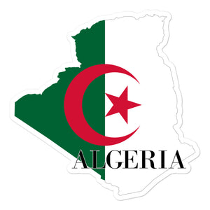 Algeria Bubble-free stickers