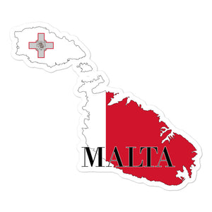 Malta Bubble-free stickers